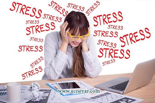 درمان جوش عصبی-درمان جوش های استرسی