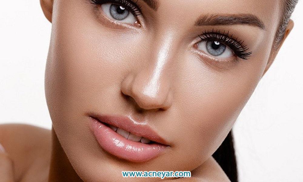 ۶ راه حل خانگی برای کاهش چربی پوست