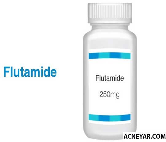 فلوتامید(آنتی آندروژن) و درمان جوش