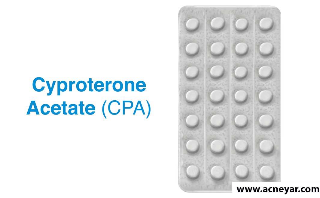 سیپروترون استات یک آنتی آندروژن درمان اختلال تخمک گذاری