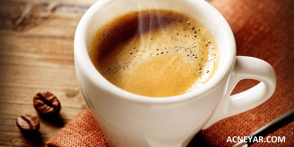 درمان جوش با قهوه
