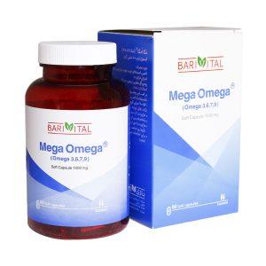 Mega Omega Barivital سافت ژل امگا باریویتال
