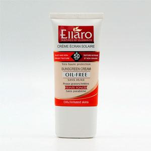 ضد آفتاب الارو رنگ بژ طبیعی spf50 مناسب پوست های چرب و مستعد آکنه و جوش